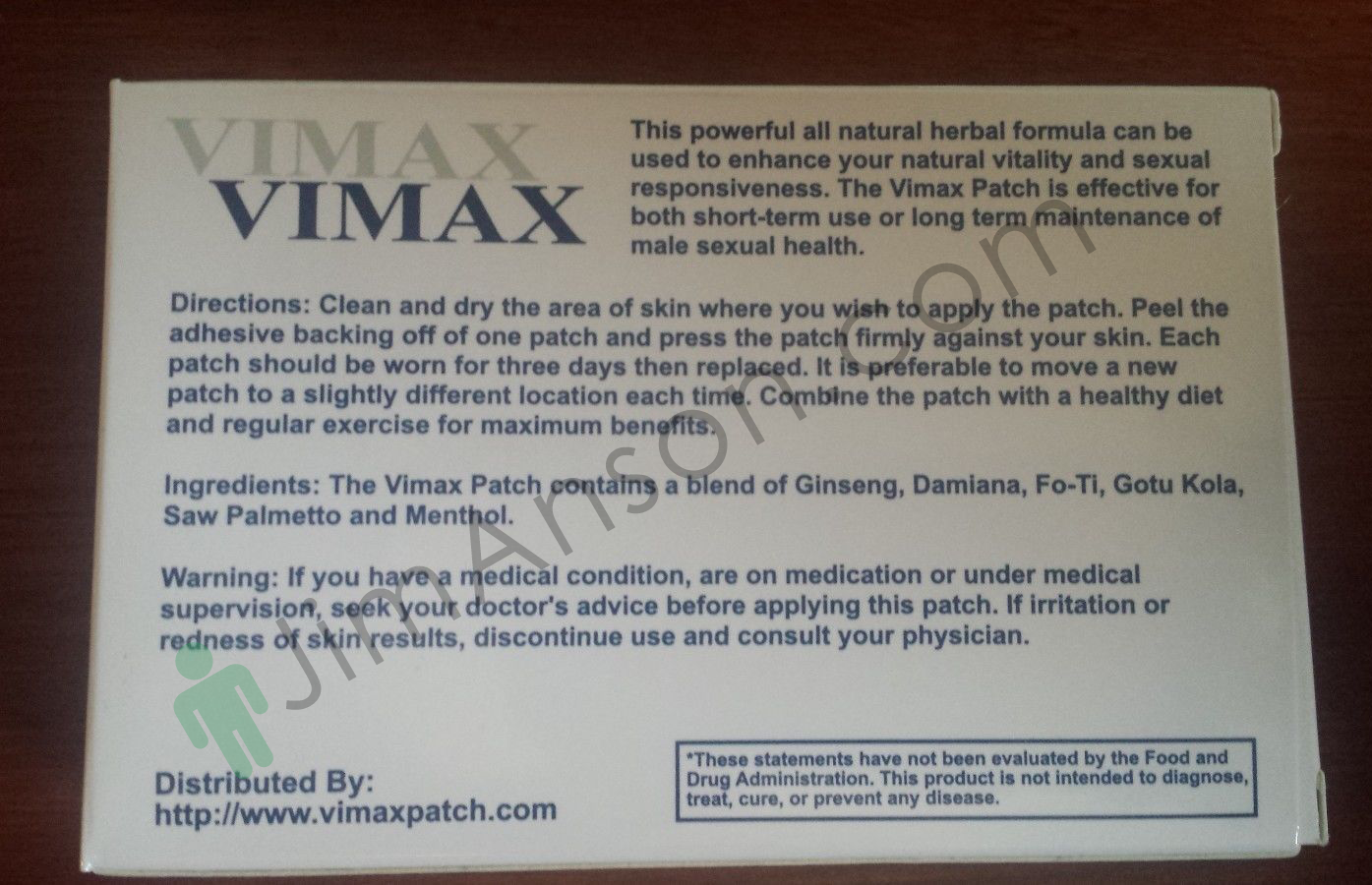 pros and cons of vimax patch revealed what kind of